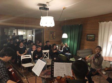 Студенты побывали на концерте классической музыки